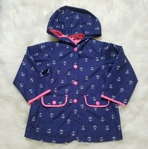Anchor rain coat